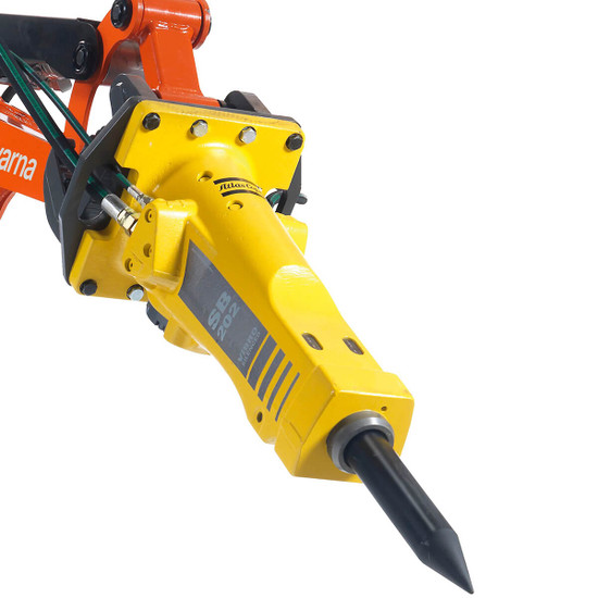 Breaker SB 202 for Husqvarna DXR Demolition Robots