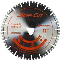 soff-cut vari-cut orange green concrete blade for medium to soft aggregate and abrasive sand