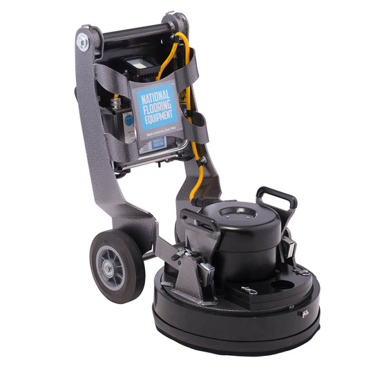 National HELIX Floor Grinder with Collapsible Handles for Storage