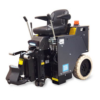 National Flooring Equipment 5000DL Ride-On Floor Scraper