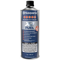 husqvarna xp+ pre-mixed 2 cycle fuel 50:1 ethanol free, high octane