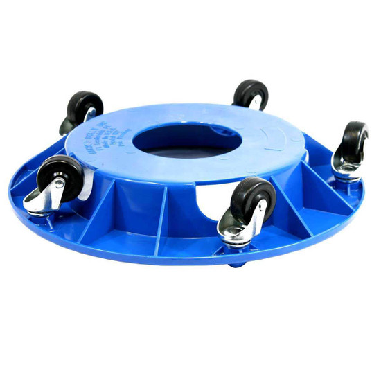 Bucket Dolly Will hold a bucket on a 45 degree angle, Sturdy and stable 300 lbs capacity, 5 casters