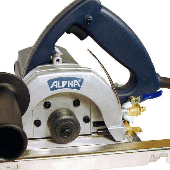 "Alpha AWS-125 5"" Wet Hand-Held Saw"