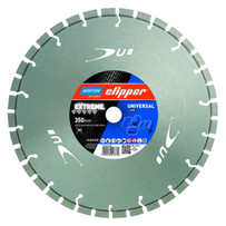 norton clipper extreme universal blade, very fast cutting on soft or hard materials