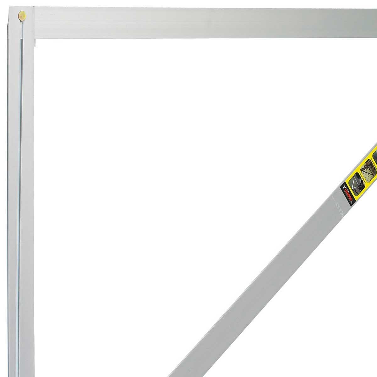 a square 3 x 4 x 5 aluminum folding layout tool