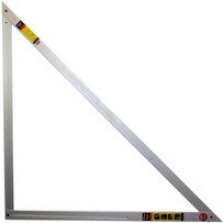 a square 4 x 4 heavy duty layout tool