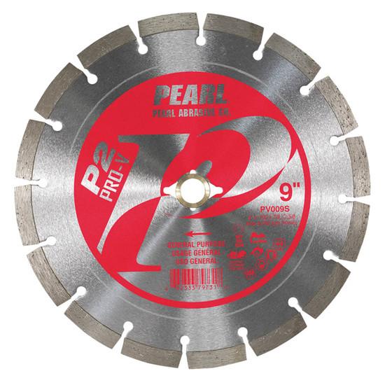 Pearl PV009S Segmented rim for a very fast cut