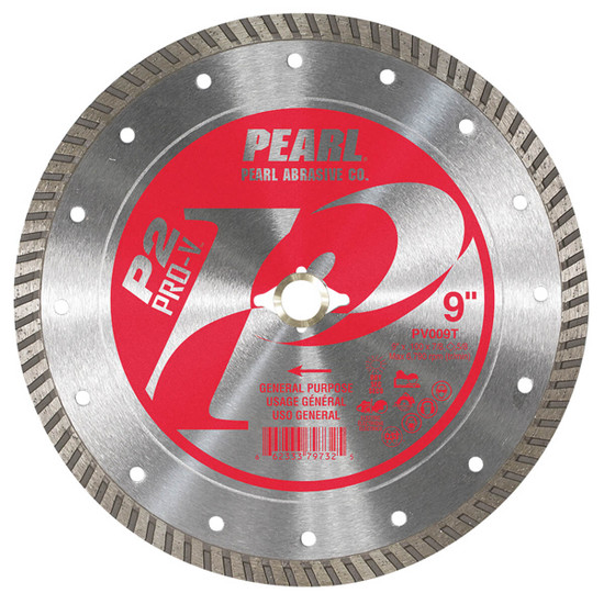 pearl PV009T Turbo rim for a fast cut and minimal chipping