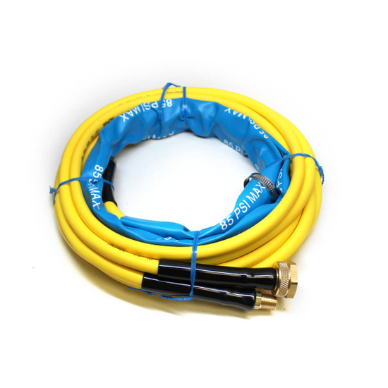 Alpha AIR-850 AIR-830 air and water hose for pneumatic stone wet polisher top view