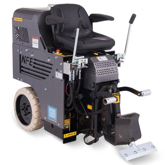 5700DL national flooring equipment floor scraper, ride-on, 110 Volt, dual lift