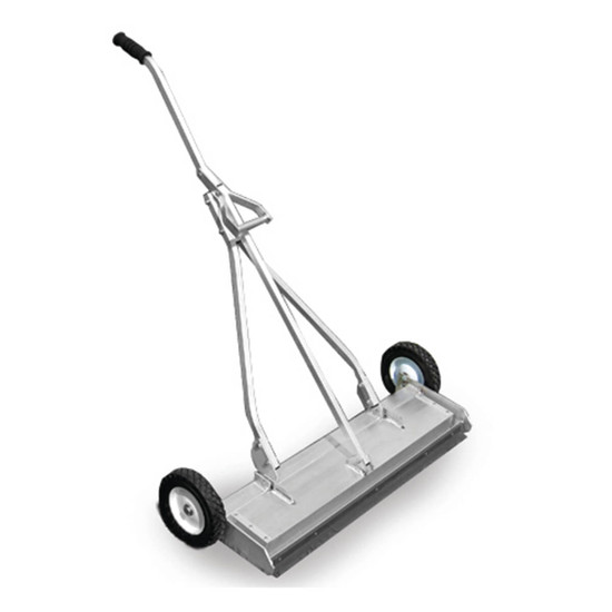 6551 National Flooring Equipment Heavy-Duty Magnetic Shot Sweeper
