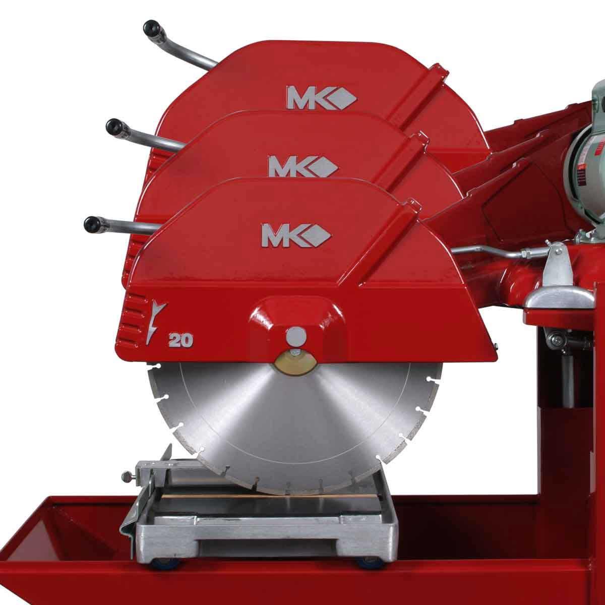 mk 8.5 hp 50in block saw