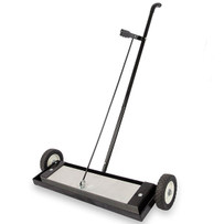 6553 National Flooring Equipment Magnetic Shot Sweeper