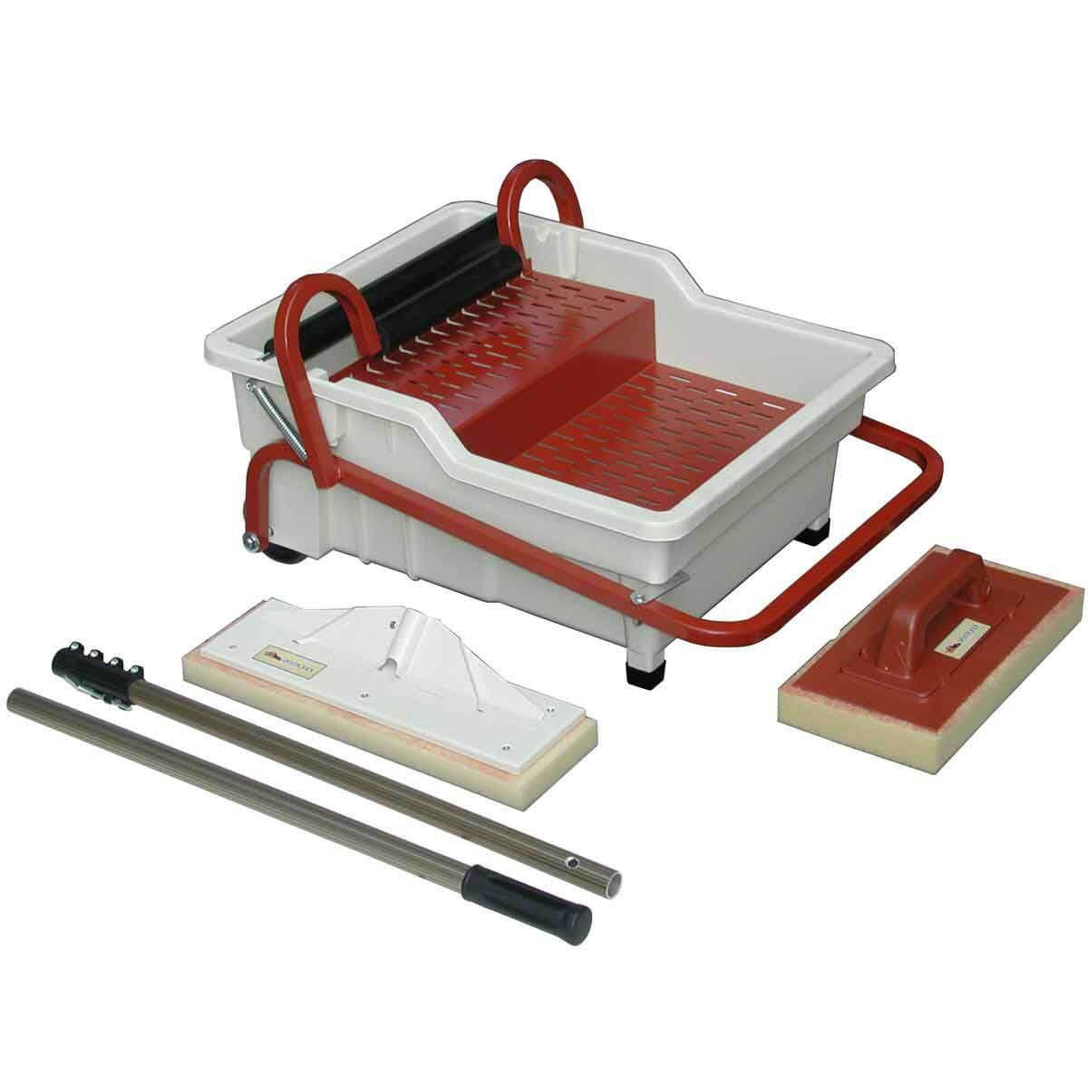 Raimondi Pedalo Grout Cleaning