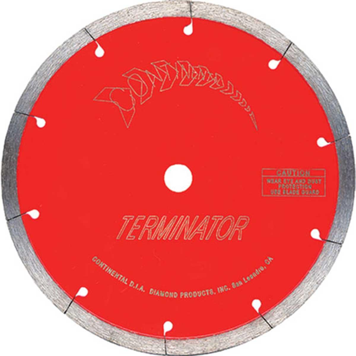 terminator continuous rim diamond blade