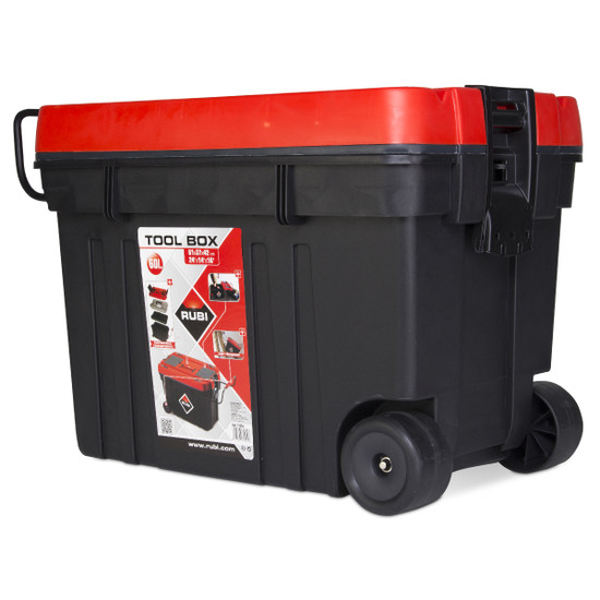Rubi Rolling Tool Box is a light and highly functional box 71954