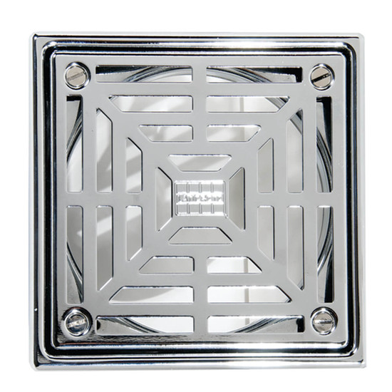 Laticrete Hydro Ban Shower Grate - Polished Stainless