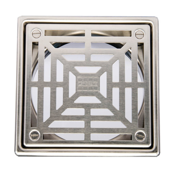 Laticrete Hydro Ban Shower Grate - Brushed Stainless