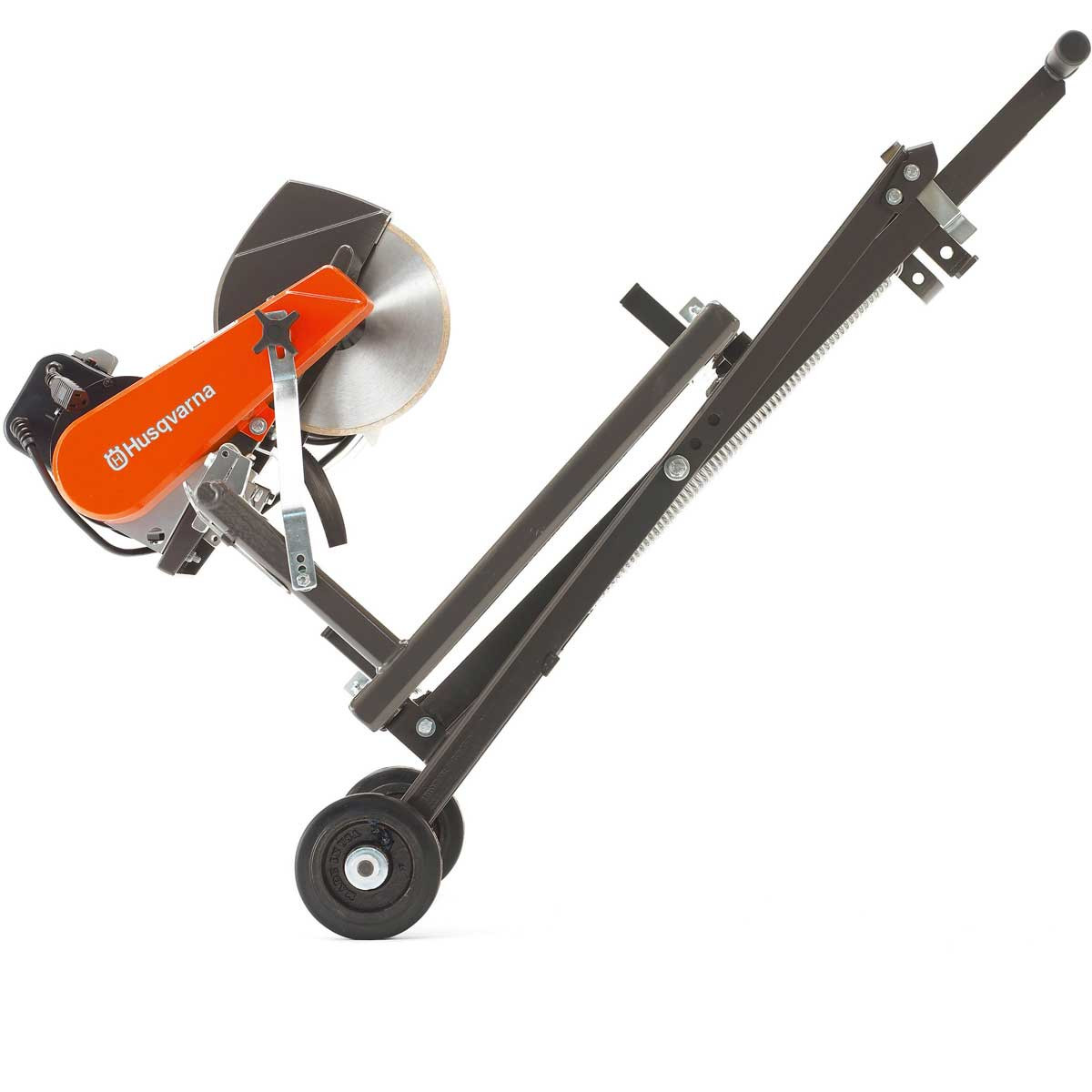 Adjustable rolling stand moving tile saw with wheel kit