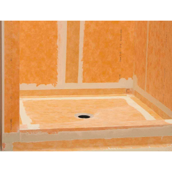 KERDI Waterproof Membrane In Shower