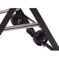 Husqvarna Rear Wheel Kit for Tile Saw Rolling Stand