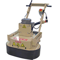 edco dual disc concrete floor grinder electric
