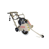 37300 Edco DS-18 Electric Walk Behind Saw, 5HP, 230V, 1 phase, 60Hz