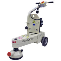 """57200 EDCO Magna-Trap 7"""" Edge Turbo Grinder TMC-7E 115V Three-position articulating frame adjustment for left angle, right angle or straight position grinding"""