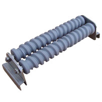 Grout Caddy Grooved rollers