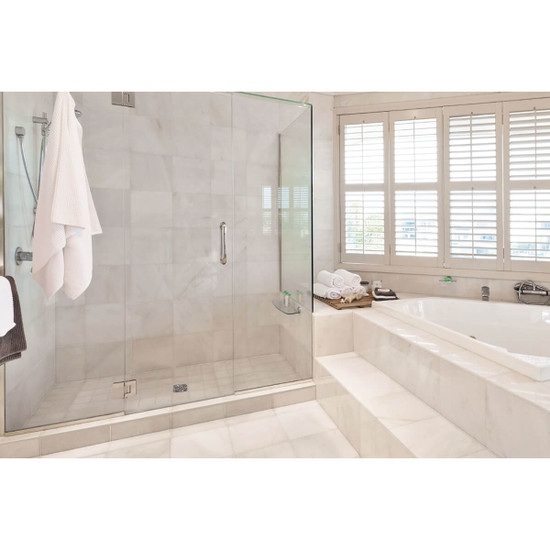Schluter KERDI-SHOWER Shower Stall with Porcelain Tile