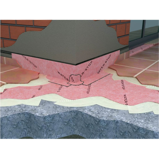 Guru Waterproofing Sheet Membrane Beneath Ceramic Tile