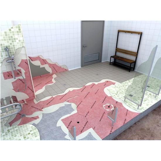 Fully Waterproof Bathroom Installed with Guru Membrane