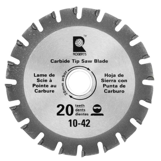 Roberts by QEP 4-1/2 in. Jamb Saw Replacement Blade QEP Roberts Jamby Jamb Saw, 20 Teeth carbide tipped wood saw blade