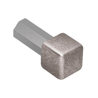 Schluter Systems Quadec stone grey Aluminum Metal Inside and Outside Corner