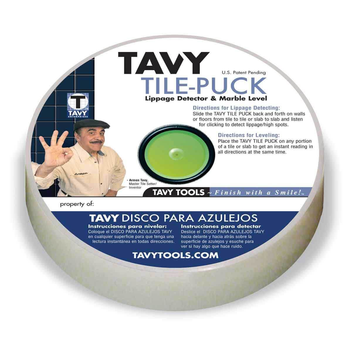 tavy tile puck level lippage detector