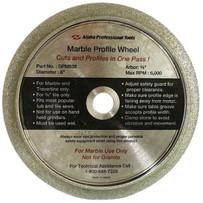 Alpha 6 inch Marble Profile Wheel