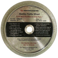 Alpha DPM638 Marble Profile Wheel