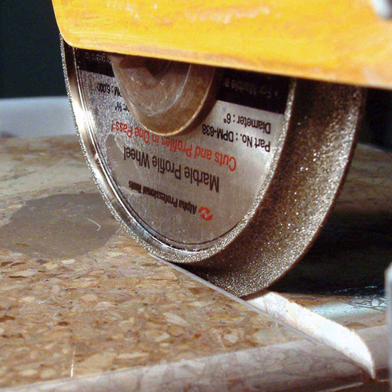 Alpha Marble Profiling Diamond Wheel