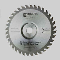 QEP Roberts Jamby Replacement Blade 36-tooth carbide tipped blade easily cuts through tough wood