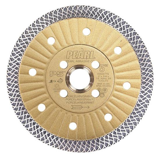 "Pearl Abrasive P5 5"" Thin Turbo Mesh Blade"