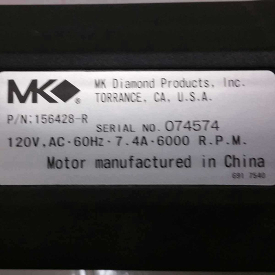 156428-R MK 370 Replacement Label