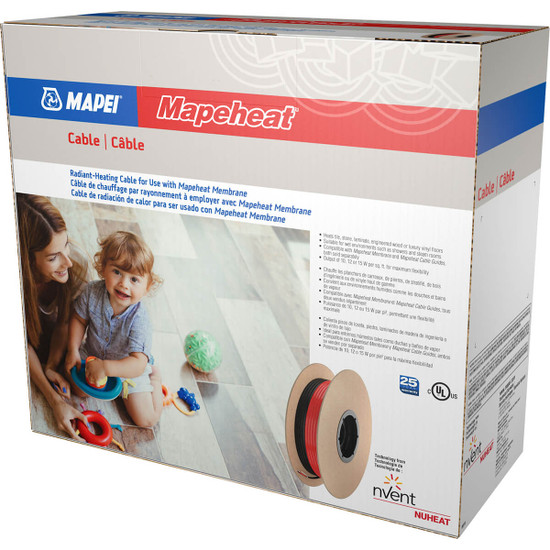 Mapeheat 240V Floor Heating Cable