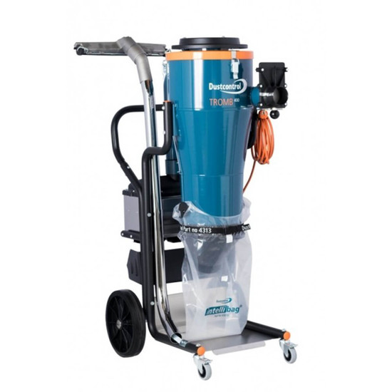171502 Dustcontrol DC Tromb 400C, 115V 1 Phase, plastic bag collection