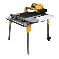 "SawMaster M1030 10"" Wet Tile Saw, 30"" Rip Cut"