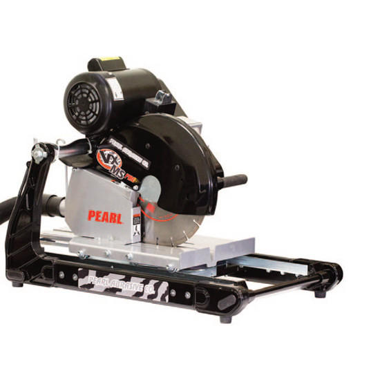 """Pearl VX141MSPROD 14"""" Professional Brick Saw with Dust Collection Table"""