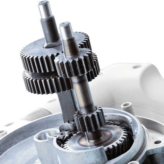 Collomix High Quality Gear Box, Hardened gear wheels, Optimum gearing ratios