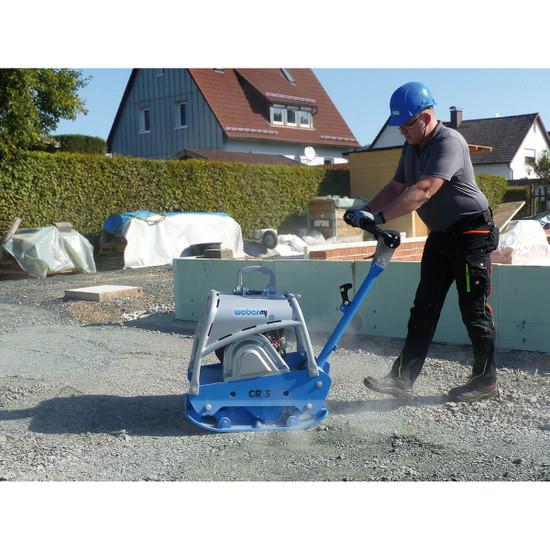 Weber mt CR3 reversible plate for soil