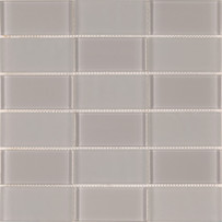 Brilliance Taupe Stacked Mosaic Mixed Tile