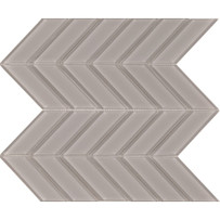 Brilliance Taupe Chevron Mosaic Tile