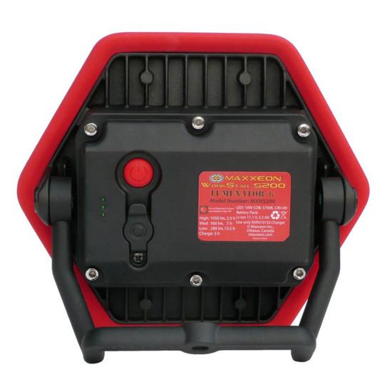 Maxxeon WorkStar 5200 Lumenator Jr Li-ion Battery